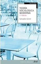 Papel TEORIA SOCIOLOGICA MODERNA