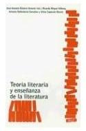 Papel TEORIA LITERARIA Y ENSEÑANZA DE LA LITERATURA (LITERATURA Y CRITICA)