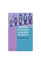 Papel EDUCACION PERMANENTE Y EDUCACION DE ADULTOS