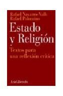 Papel ESTADO Y RELIGION TEXTOS PARA UNA REFLEXION CRITICA (2 EDICION ACTUALIZADA) (ARIEL DERECHO)
