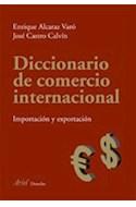 Papel DICCIONARIO DE COMERCIO INTERNACIONAL IMPORTACION Y EXPORTACION INGLES-ESPAÑOL / SPANISH-ENGLISH