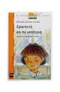 Papel APARECIO EN MI VENTANA (BARCO DE VAPOR NARANJA  (9 AÑOS)
