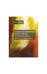 Papel Lecturas de antropología social y cultural