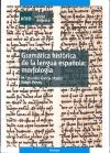 Papel Gramática Histórica De La Lengua Española: Morfología