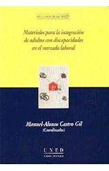 Papel MATERIALES PARA LA INTEGRACION DE ADULTOS CON DISCAPACIDADES