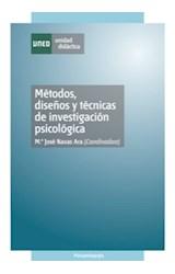 E-book Métodos, Diseños y Técnicas de Investigación Psicológica