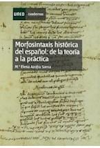 Papel Morfosintaxis histórica del español : de la teoría a la práctica