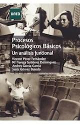 Papel PROCESOS PSICOLOGICOS BASICOS. UN ANALISIS F