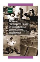 E-book Procesos Psicológicos Básicos. Un análisis funcional
