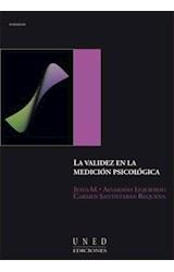 E-book LA VALIDEZ EN LA MEDICIÓN PSICOLÓGICA