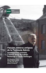 E-book Paisajes Mineros Antiguos en la Península Ibérica. Investigaciones Recientes y Nuevas Lïneas de Trabajo. Homenaje a Claude Domergue
