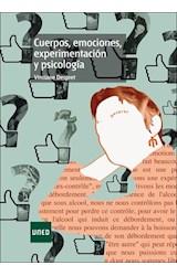 E-book Cuerpos, emociones, experimentación y psicología