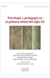E-book Psicología y pedagogía en la primera mitad del siglo XX