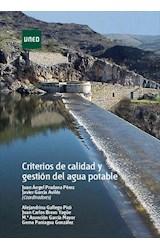 E-book Criterios de calidad y gestión del agua potable