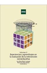 E-book Volumen II Experiencias y aprendizajes enlaevaluación de la intervención socioeducativa