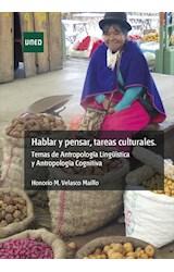 E-book Hablar y pensar, tareas culturales.