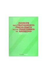 Papel AVANCES EN EL TRATAMIENTO PSICOLOGICO DE LOS TRASTORNOS DE A
