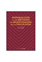 Papel INTRODUCCION A LOS METODOS DE INVESTIGACION DE LA PSICOLOGIA