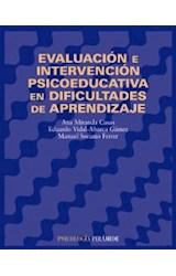 Papel EVALUACION E INTERVENCION PSICOEDUCATIVA EN DIFICULTADES DE