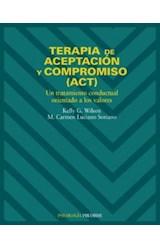 Papel TERAPIA ACEPTACION Y COMPROMISO.(PSICOLOGIA)