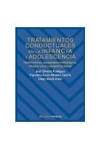 Papel TRATAMIENTOS CONDUCTUALES EN LA INFANCIA Y ADOLESCENCIA