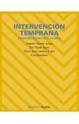 Papel INTERVENCION TEMPRANA (DESARROLLO OPTIMO DE 0 A 6 AÑOS