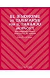 Papel SINDROME DE QUEMARSE POR EL TRABAJO, EL (BURNOUT)