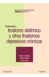 Papel TRATANDO... TRASTORNO DISTIMICO Y OTROS TRASTORNOS DEPRESIVO