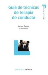 Papel GUIA DE TECNICAS DE TERAPIA DE CONDUCTA (R) (2006)