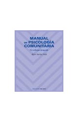 Papel MANUAL DE PSICOLOGIA COMUNITARIA (UN ENFOQUE INTEGRADO)