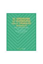 Papel EL SINDROME DE QUEMARSE POR EL TRABAJO (BURNOUT)