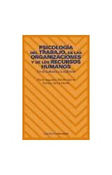 Papel PSICOLOGIA DEL TRABAJO, DE LAS ORGANIZACIONES Y DE LOS RECUR
