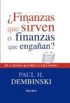Libro Finanzas Que Sirven O Finanzas Que Engañan ?