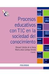 Papel PROCESOS EDUCATIVOS CON TIC EN LA SOCIEDAD DEL CONOCIMIENTO