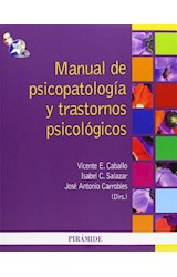 Papel MANUAL PSICOPATOLOGIA Y
