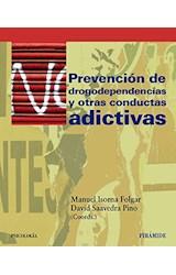 Papel PREVENCION DE DROGODEPENDENCIAS Y OTRAS CONDUCTAS ADICTIVAS