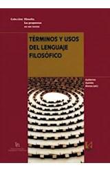 Papel Términos y usos del lenguaje filosófico
