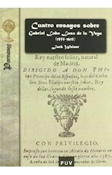 Papel Cuatro ensayos sobre Gabriel Lobo Laso de la Vega (1555-1615)