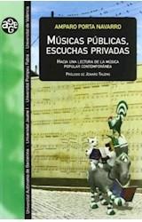 Papel MUSICAS PUBLICAS, ESCUCHAS PRIVADAS