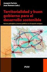 Libro Territorialidad Y Buen Gobierno Para El Desarrollo