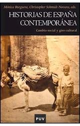 Papel Historias de España contemporánea