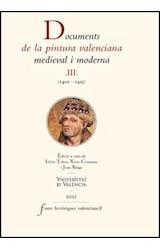 E-book Documents de la pintura valenciana medieval i moderna III (1401-1425)