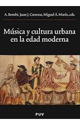 E-book Música y cultura urbana en la Edad Moderna