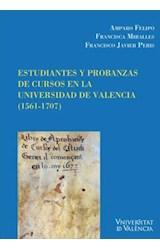 E-book Estudiantes y probanzas de cursos en la Universidad de Valencia (1561-1707)