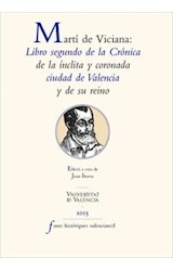 E-book Martí de Viciana: Libro segundo de la Crónica de la ínclita y coronada ciudad de Valencia y su reino