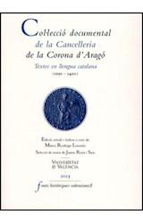 E-book Col·lecció documental de la Cancelleria de la Corona d'Aragó