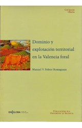 E-book Dominio y explotación territorial en la Valencia foral