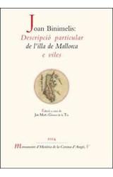 E-book Joan Binimelis: Descripció particular de l'illa de Mallorca e viles