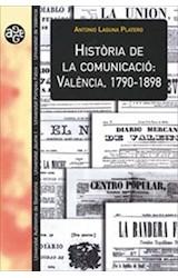 E-book Història de la comunicació: València, 1790-1898