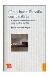 Papel COMO HACER FILOSOFIA CON PALABRAS